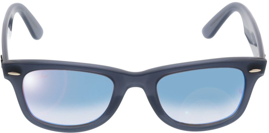 Picture of glasses model Ray-Ban Wayfarer RB4340 62324O 50-22 in angle 0