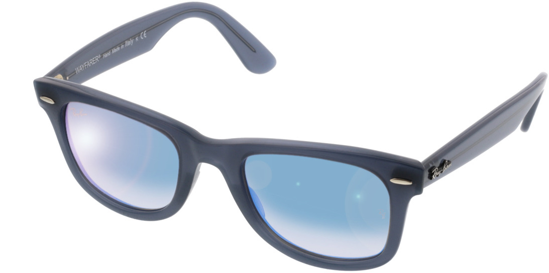 Picture of glasses model Ray-Ban Wayfarer RB4340 62324O 50-22 in angle 330
