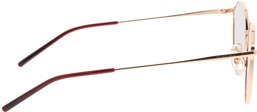 Picture of glasses model Bolon BJ7120 B31 51-18 in angle 90