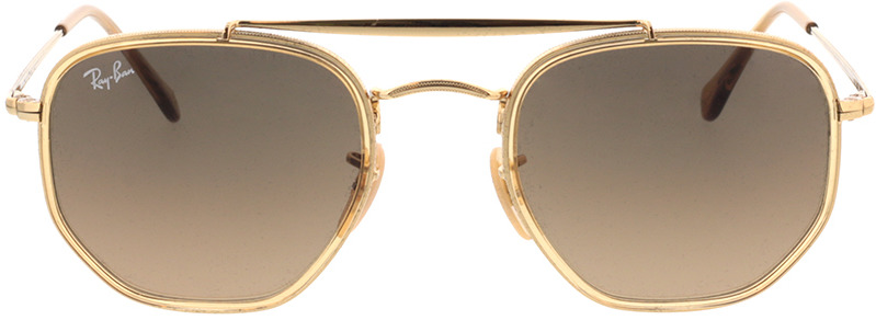 Picture of glasses model Ray-Ban RB3648M 912443 52-23 in angle 0