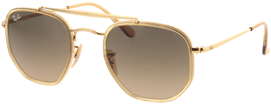 Picture of glasses model Ray-Ban RB3648M 912443 52-23 in angle 330