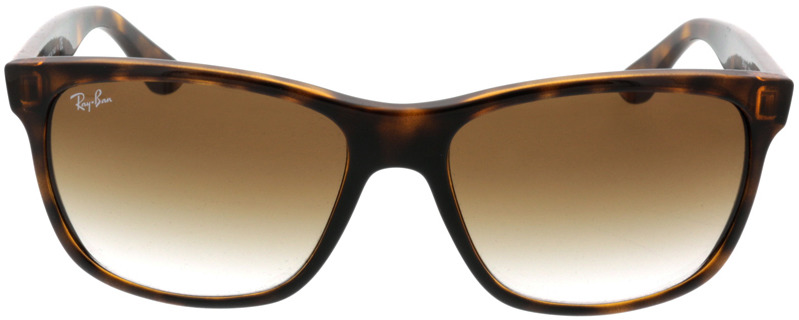 Picture of glasses model Ray-Ban RB4181 710/51 57-16 in angle 0