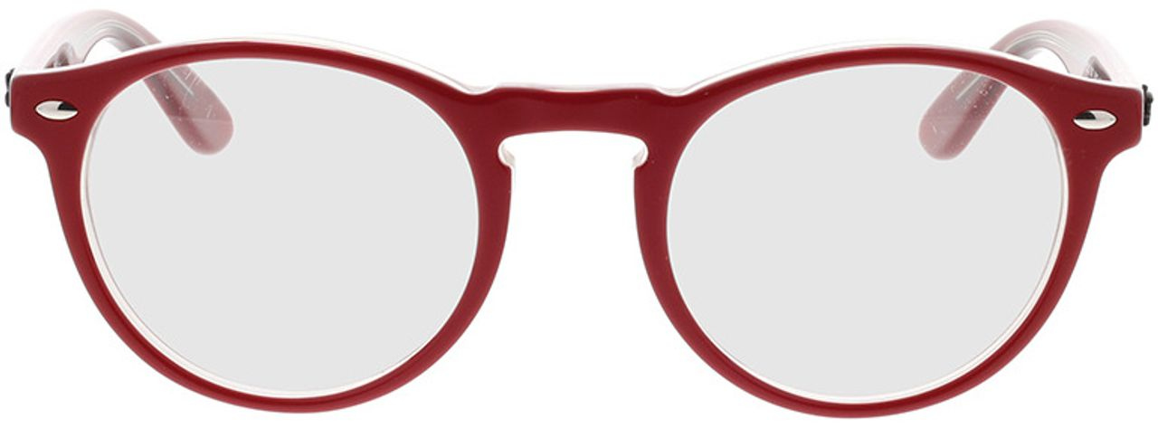 Picture of glasses model Ray-Ban RX5283 5987 49-21 in angle 0