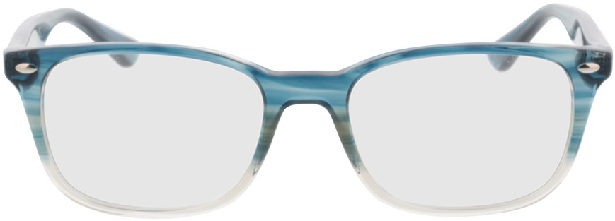 Picture of glasses model Ray-Ban RX5375 8146 53-18 in angle 0