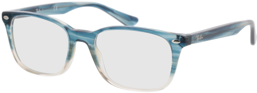 Picture of glasses model Ray-Ban RX5375 8146 53-18 in angle 330