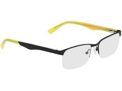 Brille Erfurt-schwarz/gelb