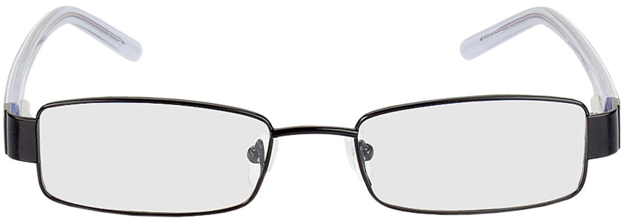 Picture of glasses model Lucca-schwarz in angle 0