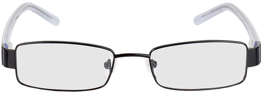 Picture of glasses model Lucca black in angle 0
