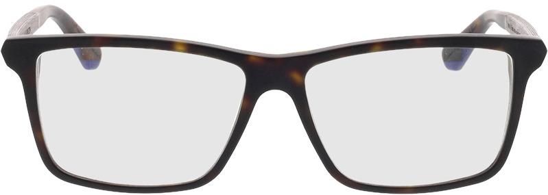 Picture of glasses model Wood Fellas Optical Aspenstein black oak/hav matte 56-15 in angle 0