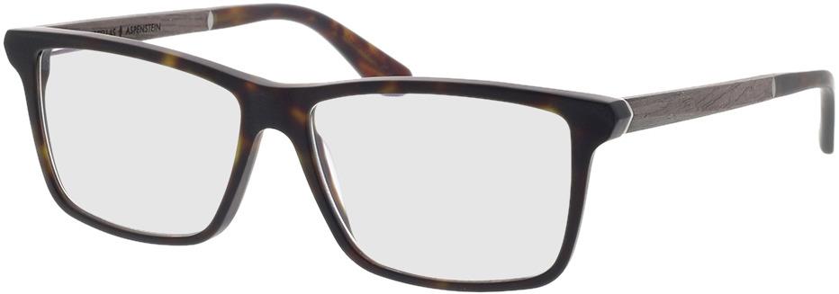 Picture of glasses model Wood Fellas Optical Aspenstein black oak/hav matte 56-15 in angle 330