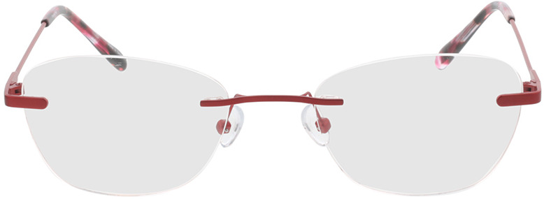 Picture of glasses model Lucida-rot in angle 0