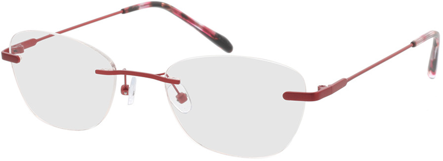 Picture of glasses model Lucida-rot in angle 330