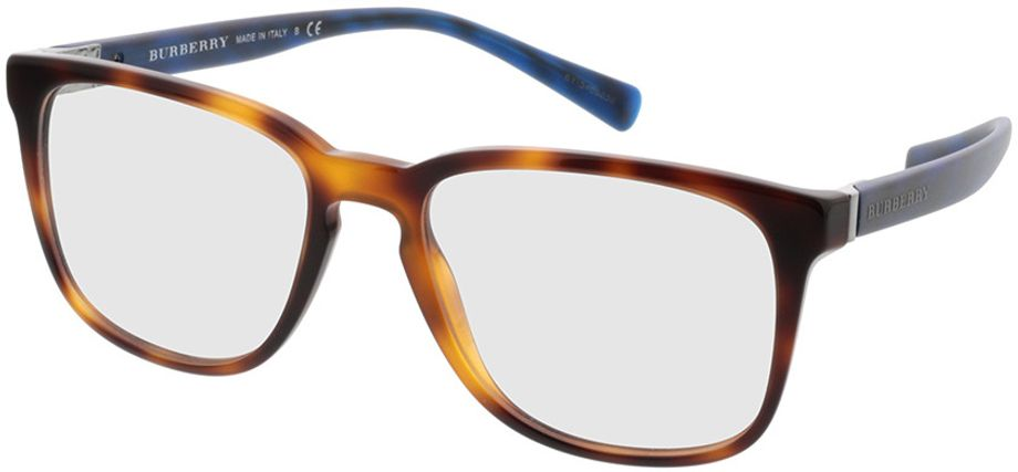 Picture of glasses model Burberry BE2239 3617 55-18 in angle 330