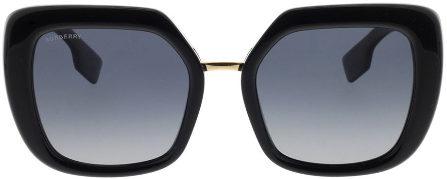 Picture of glasses model Burberry BE4315 3001T3 53-21 in angle 0