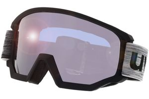 Uvex Skibrille Athletic FM Black/Mirror Silver