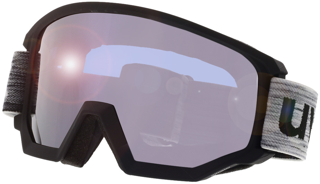 Picture of glasses model Uvex Skibrille Athletic FM Black/Mirror Silver