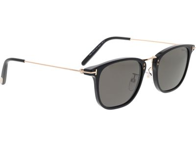 Brille Tom Ford FT0672 01A 53-21