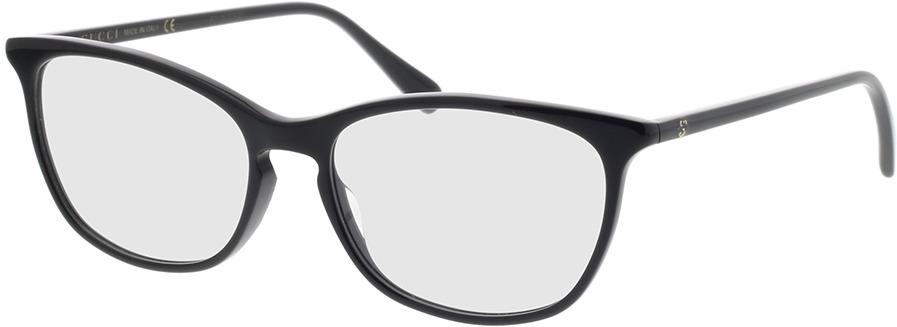 Picture of glasses model Gucci GG0549O-006 54-16 in angle 330