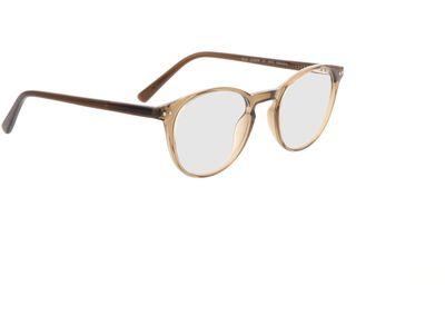 Brille Konstanz-braun-transparent