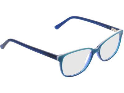 Brille Townsville-blau