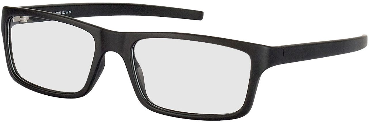 Picture of glasses model Nador-schwarz in angle 330