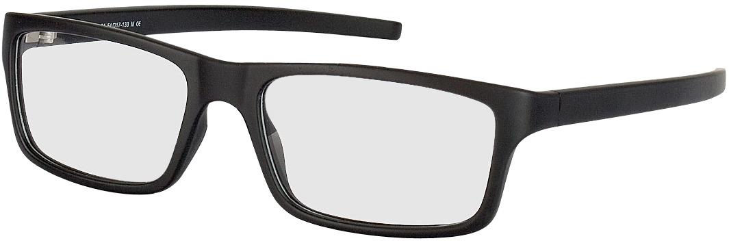 Picture of glasses model Nador black in angle 330