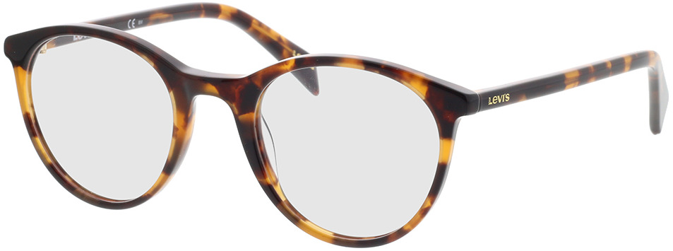 Picture of glasses model Levi's LV 1005 05L 50-22 in angle 330