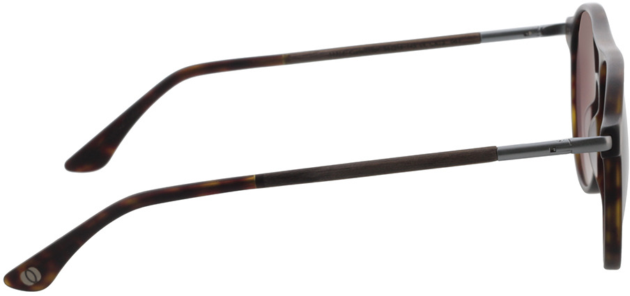 Picture of glasses model Wood Fellas Sunglasses Core curled/havana 56-16 in angle 90