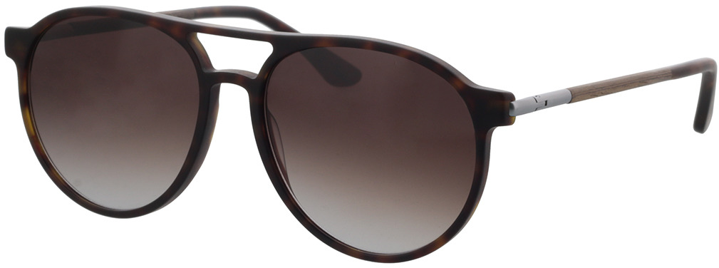Picture of glasses model Wood Fellas Sunglasses Core curled/havana 56-16 in angle 330