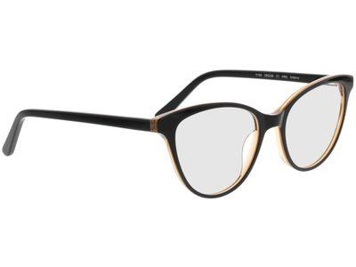 Brille Andorra-schwarz/braun