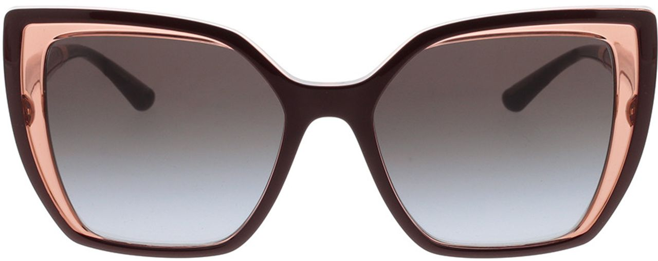 Picture of glasses model Dolce&Gabbana DG6138 32478G 55-18 in angle 0