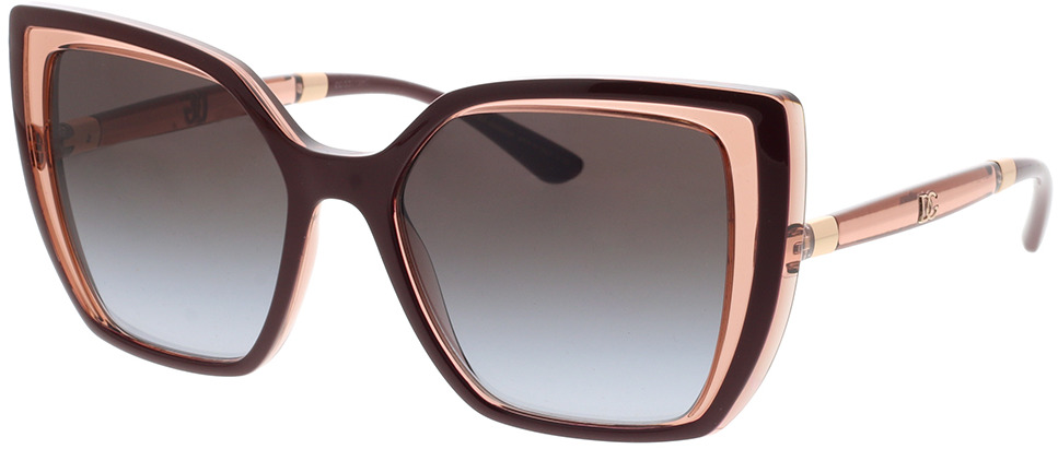 Picture of glasses model Dolce&Gabbana DG6138 32478G 55-18 in angle 330