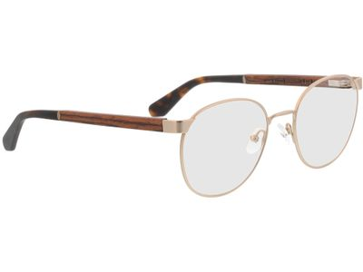 Brille Wood Fellas Optical Amalienburg walnut/gold 53-19