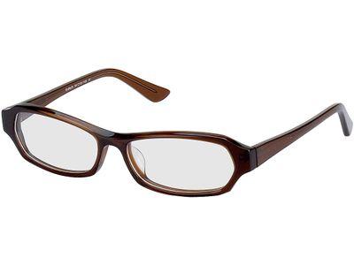 Brille Teramo-braun (transparent)