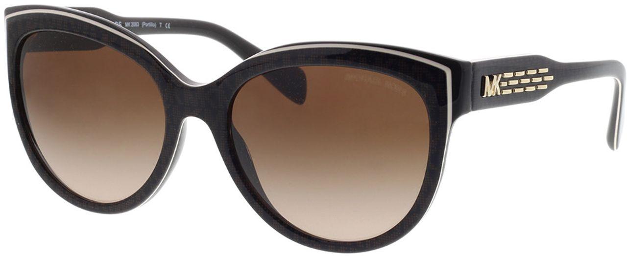 Picture of glasses model Michael Kors Portillo MK2083 394413 57-18 in angle 330