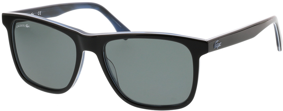 Picture of glasses model Lacoste L875SP 001 56-17 in angle 330