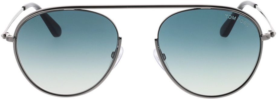 Picture of glasses model Tom Ford FT0599 08W 55-19 in angle 0