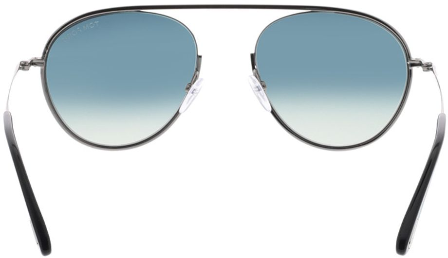 Picture of glasses model Tom Ford FT0599 08W 55-19 in angle 180
