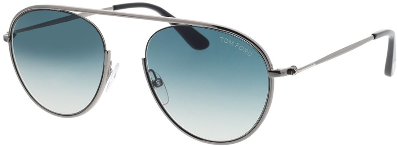 Picture of glasses model Tom Ford FT0599 08W 55-19 in angle 330