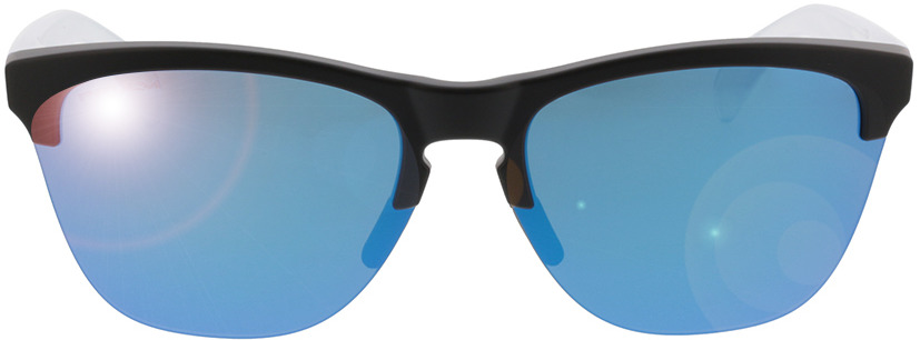 Picture of glasses model Oakley Frogskins Lite OO9374 02 63-10 in angle 0