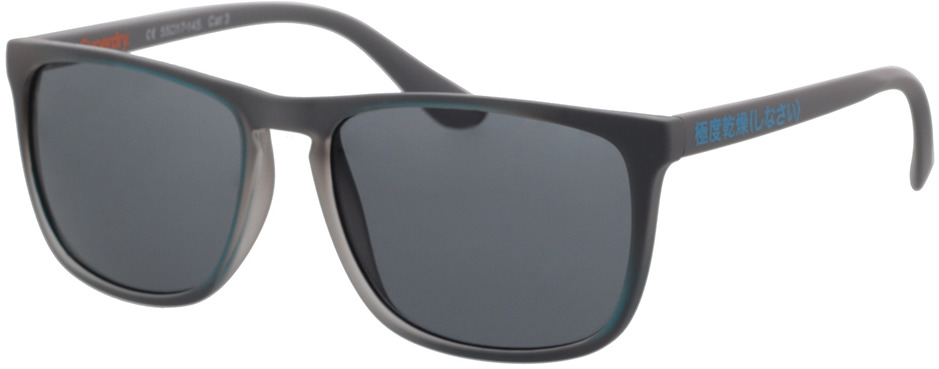 Picture of glasses model Superdry SDS Stockholm 108 grey/blue 55-17 in angle 330