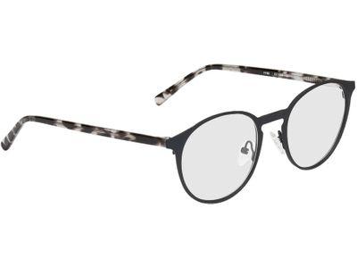 Brille Fredericia-schwarz-meliert