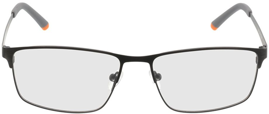 Picture of glasses model Turin-schwarz in angle 0