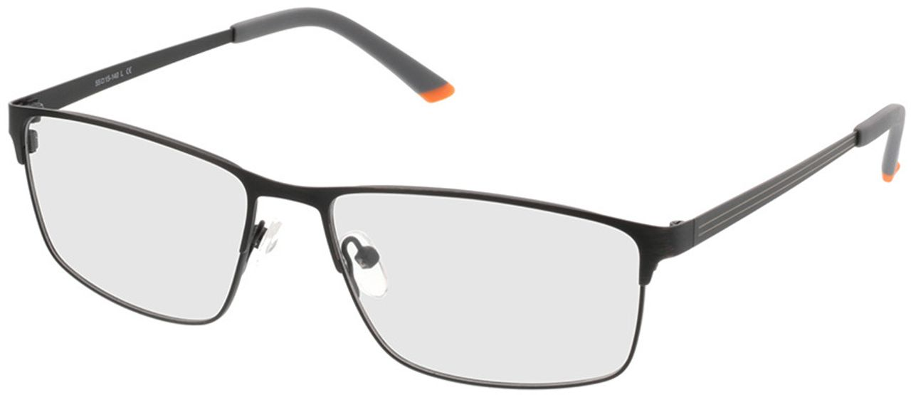 Picture of glasses model Turin-schwarz in angle 330