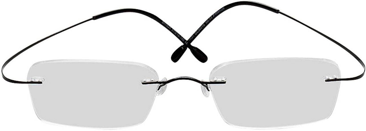Picture of glasses model Mackay-black in angle 0