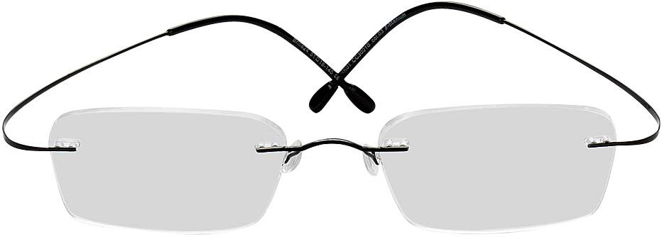Picture of glasses model Mackay black in angle 0