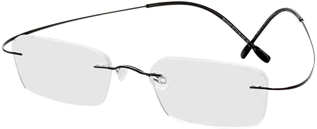 Picture of glasses model Mackay-black in angle 330