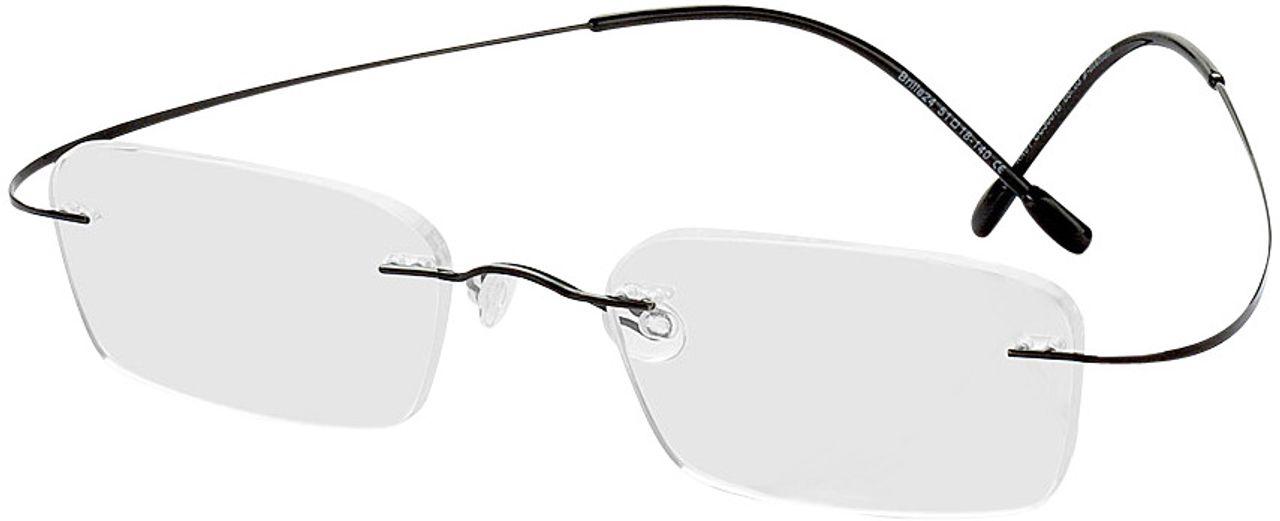 Picture of glasses model Mackay-schwarz in angle 330