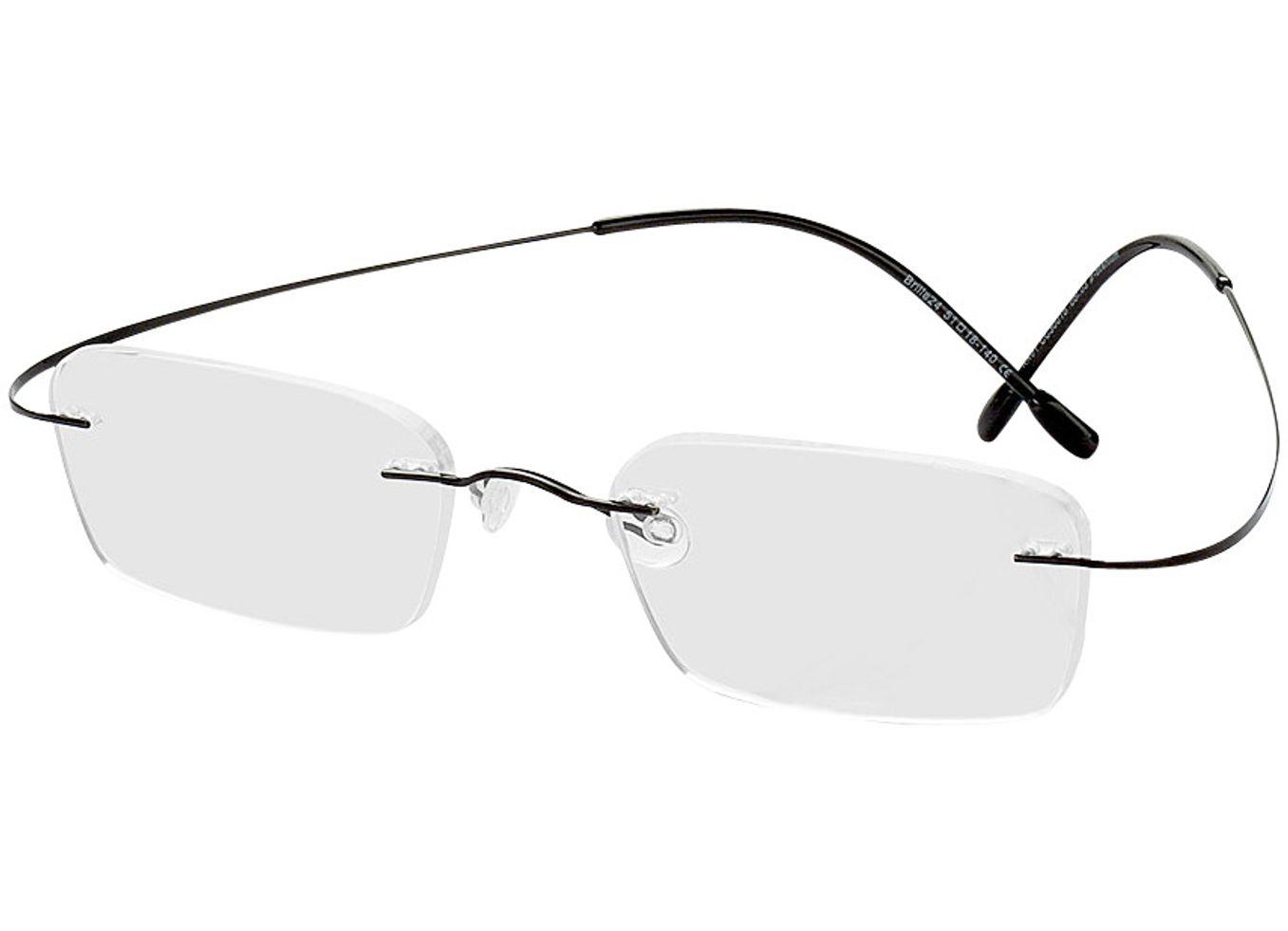 1094-singlevision-0000 Mackay-schwarz Gleitsichtbrille, Randlos, Rechteckig Brille24 Collection