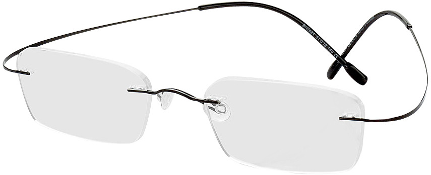 Picture of glasses model Mackay black in angle 330